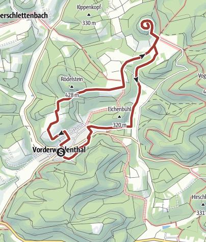 Karte / Lindelbrunnweg