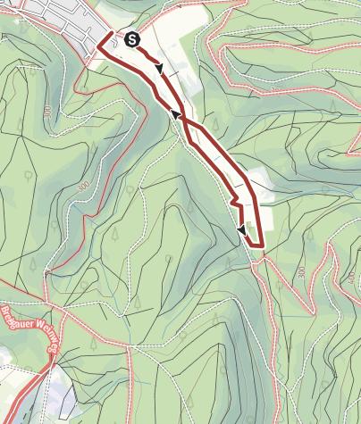 Karte / Wasserpfad Sulzbachtal
