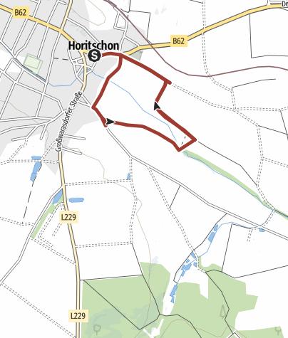 Karte / Blaufränkischweg Horitschon