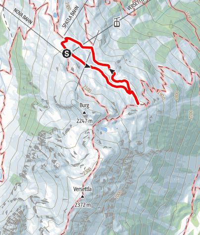 Karte / Zur Aussicht Vier Barga