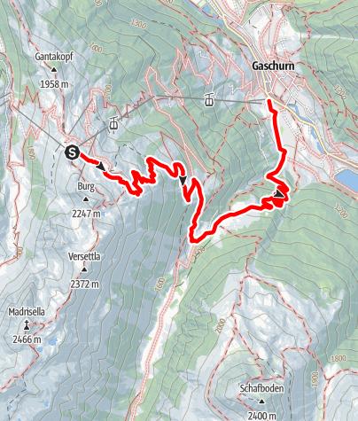 Karte / Nova Stoba - Lifinar - Ganeu