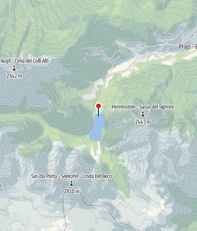Karte / Pragser Wildsee