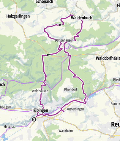 Mapa / Energie-Tour