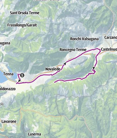 Cartina / eBike - Val di Sella