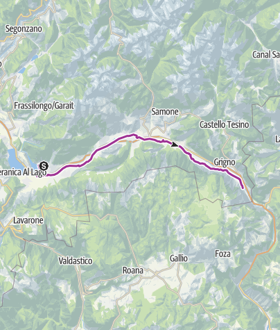 Kaart / eBike - Via del Brenta