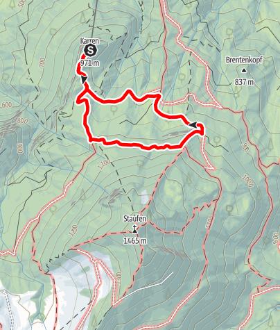 Karte / Karrenrunde