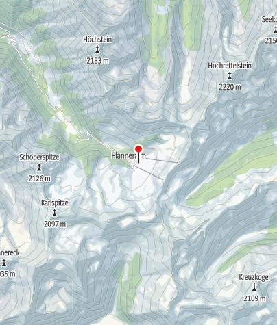Karte / Ewis Hütte und Latschenbrennerei