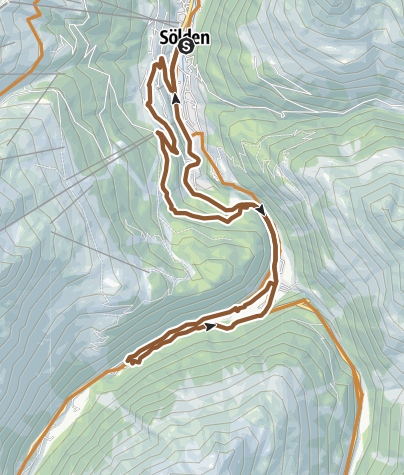 Map / Route Bodenegg Race Track (661)