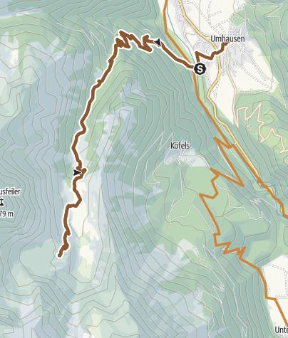 Map / Bike Route - Frischmannhütte