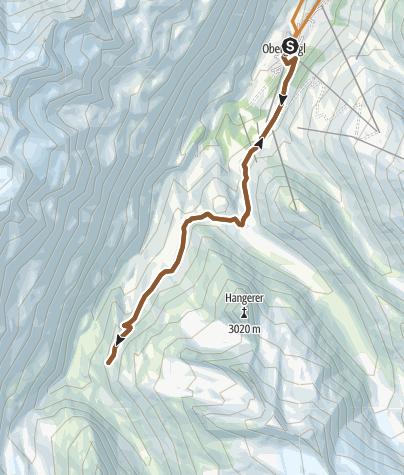 Map / Bike Route - Langtalereckhütte (11)