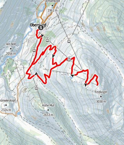 Karte / Biketour Festkogl (653)