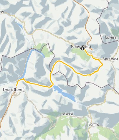 Map / 001.02 Alpine Bike Etappe 2 Tschierv - Livigno