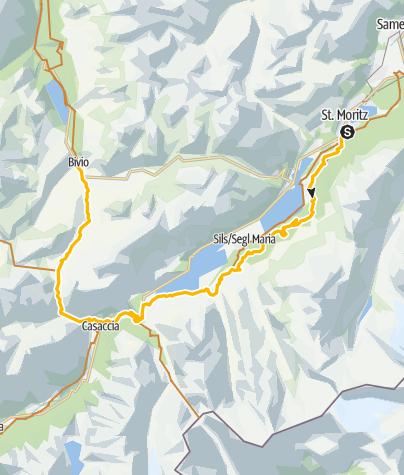Map / 001.04 Alpine Bike Etappe 4 St. Moritz - Bivio