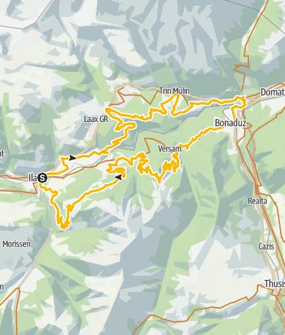 Map / 260 Rheinschluchttour