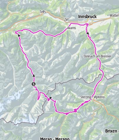 Map / Course - Ötztal Cycle Marathon