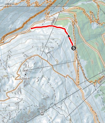 Karte / Bartiges Bödele Trail (676)