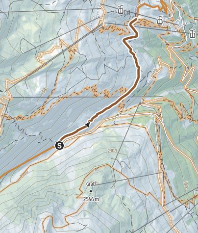 Map / Rettenbachalm Trail (675)