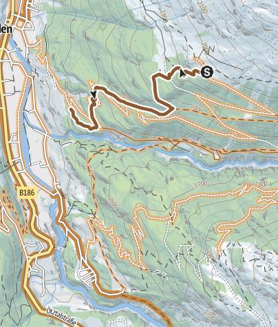 Map / Kleble Alm Trail (699)
