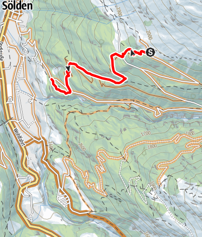 Map / Kleble Alm Trail (699)