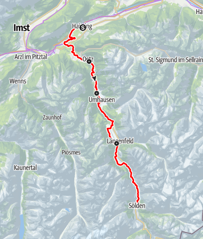 Map / Ötztal Cycle Trail (11)