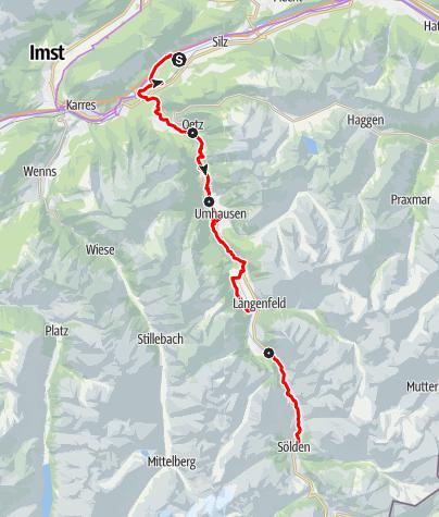 Map / Ötztal Cycle Trail (11)