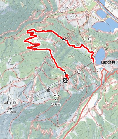 Karte / Matschwitz - Mularietschweg