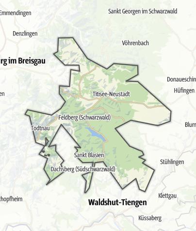 Map / Hochschwarzwald