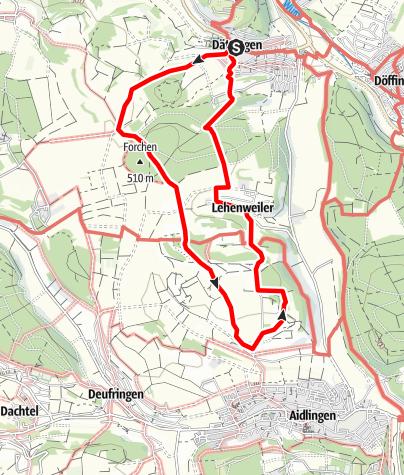 Karte / Mai - Blühende Hecken am Venusberg