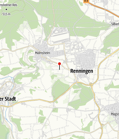 Karte / Swingolf Renningen