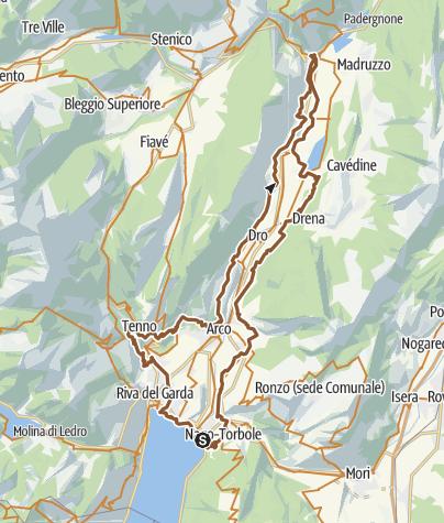 Cartina / 731. Anello Garda Sarca (Cross Country)