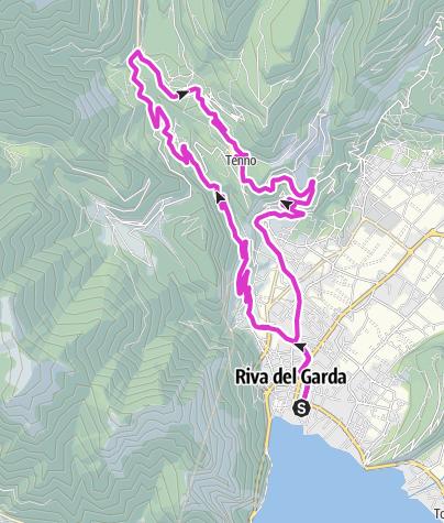 Cartina / Lago di Tenno