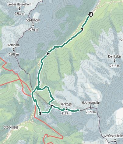 Karte / Kammerlinghorn