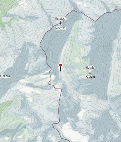 Karte / Arventalalm