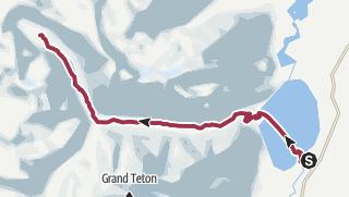 Map / Cascade Canyon Trail