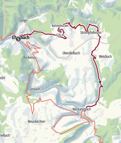 Karte / Katzensteig