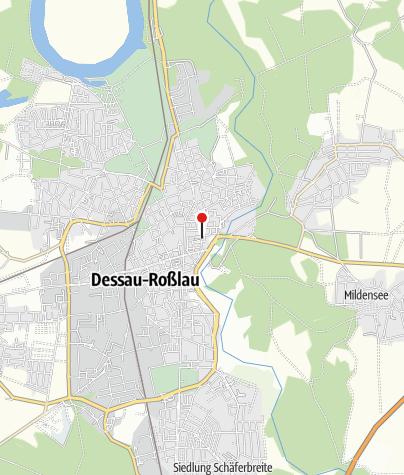 Karte / Museum für Stadtgeschichte Dessau - im Johannbau