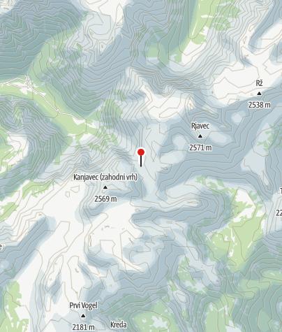 Karte / Koča na Doliču (2151 m)