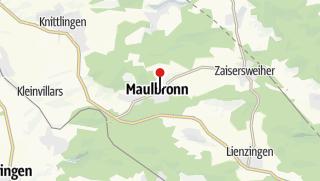 Map / Maulbronn Monastery Complex - UNESCO World Heritage Site