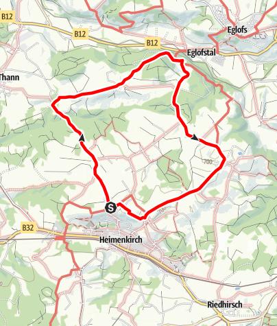 Karte / Wandern mit Geschichte >>> Weg 4