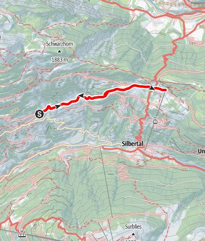 Karte / Innerberg - Kristberg