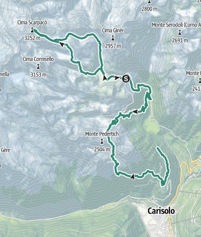 Map / Cima Scarpacò