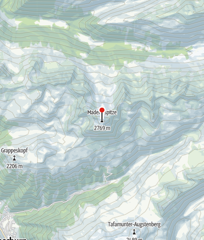 Karte / Valschavieler Maderer (2769 m)