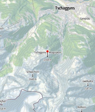 Karte / Tschaggunser Mittagspitze (2168 m)