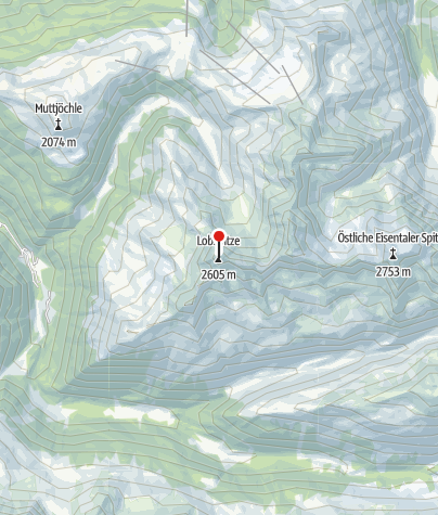 Karte / Lobspitze (2605 m)