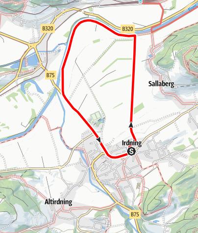 Karte / Irdninger Moosrundwanderweg