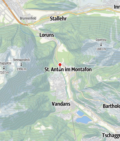 Karte / Kapelle Venser Bild