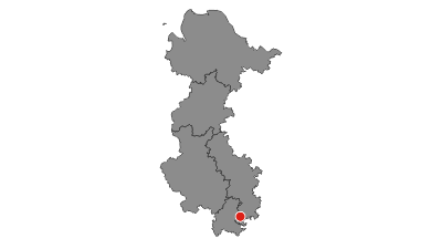 Karte / Weser-Radweg: Alternativroute Gesamt