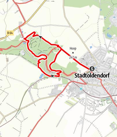Karte / Klostertour (St 1 + St 2)