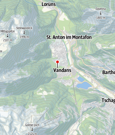 Karte / Mustergielbach