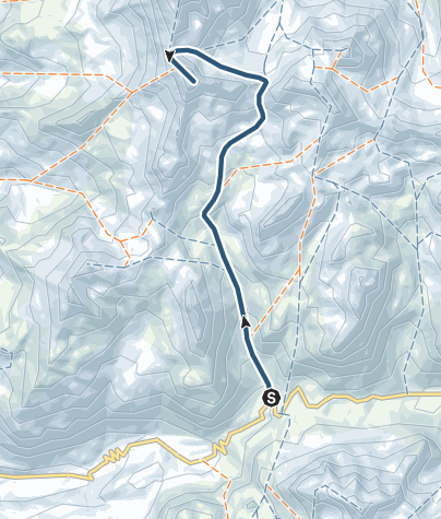 Karte / Piz d'Agnel 3205 m ü.M.
